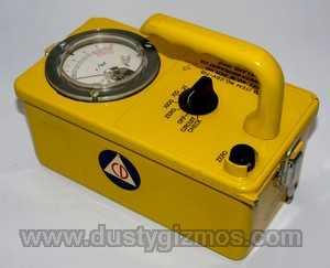 yellow meter thing
