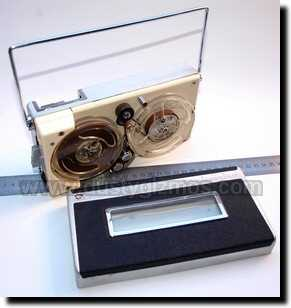 1960s miniature reel-to-reel tape recorders generally fall into one of two broad categories. The vast majority of them are essentially cheap toys, ...